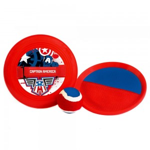 CATCH-BALL - PALETKI NA RZEP CAPTAIN AMERICA