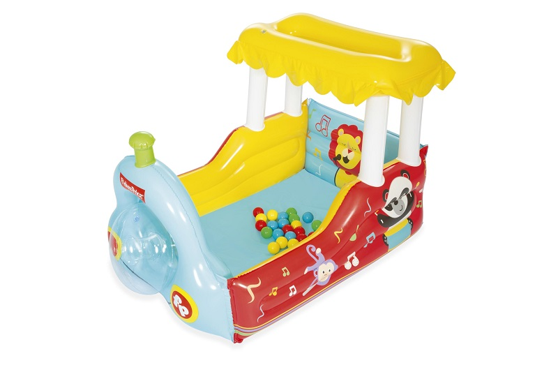 Dmuchana lokomotywa Fisher Price